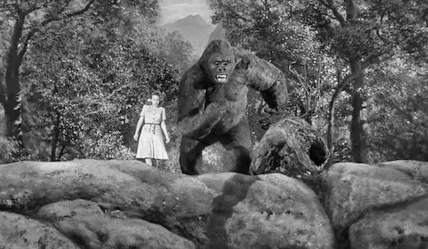 Terry Moore in Mighty Joe Young (Photo: Warner)