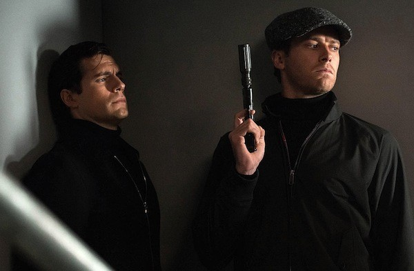 Henry Cavill and Armie Hammer in The Man from U.N.C.L.E. (Photo: Warner)