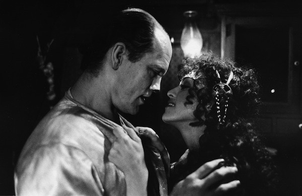 John Malkovich and Madonna in Shadows and Fog (Photo: Twilight Time)