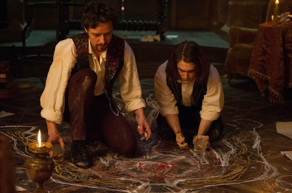 James McAvoy and Daniel Radcliffe in Victor Frankenstein (Photo: Fox)