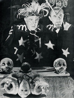 George Zucco and Bela Lugosi in Voodoo Man (Photo: Olive Films)