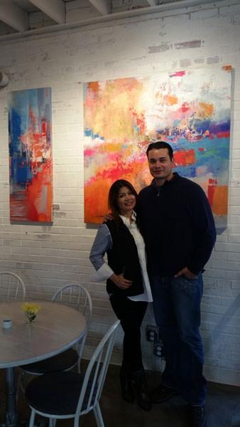 William and Ana Antonio (Photo by Anita Overcash)