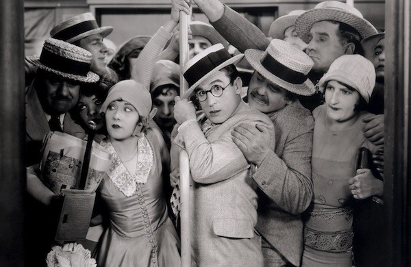 Ann Christy and Harold Lloyd in Speedy (Photo: Criterion)