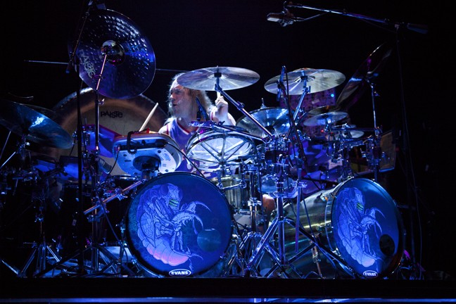 Tool drummer Danny Carey