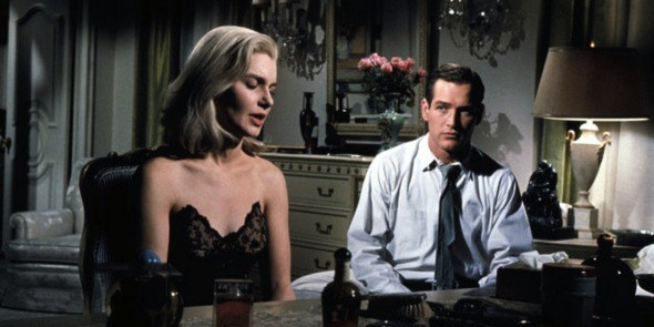 Joanne Woodward and Paul Newman in From the Terrace (Photo: Twilight Time)