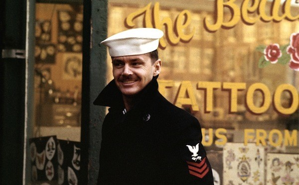 Jack Nicholson in The Last Detail (Photo: Twilight Time)