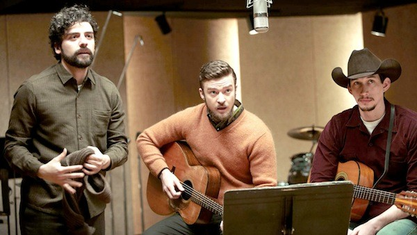 Oscar Isaac, Justin Timberlake and Adam Driver in Inside Llewyn Davis (Photo: Criterion)