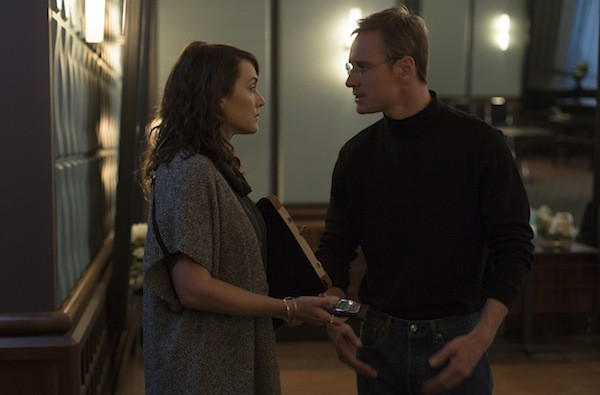 Kate Winslet and Michael Fassbender in Steve Jobs (Photo: Universal)