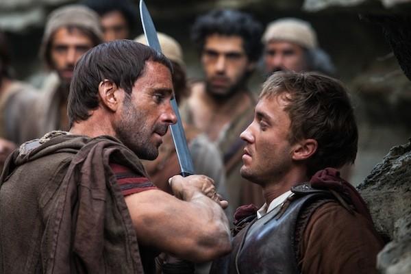 Joseph Fiennes and Tom Felton in Risen (Photo: Sony)