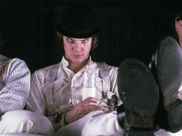 Malcolm McDowell in A Clockwork Orange (Photo: Warner Bros.)