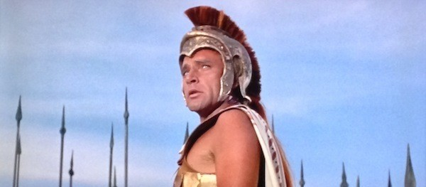 Richard Burton in Alexander the Great (Photo: Twilight Time)