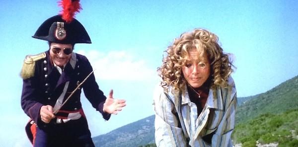 Marcello Mastroianni and Sydne Rome in What? (Photo: Severin)