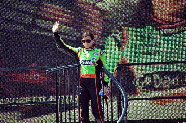 "Danica Patrick lost her GoDaddy.com sponsorship in 2015, although the company has remained supportive and a spokesperson stated they aim ""to keep her in the GoDaddy Family."" - PHOTO BY BRYCE WOMELDURF"