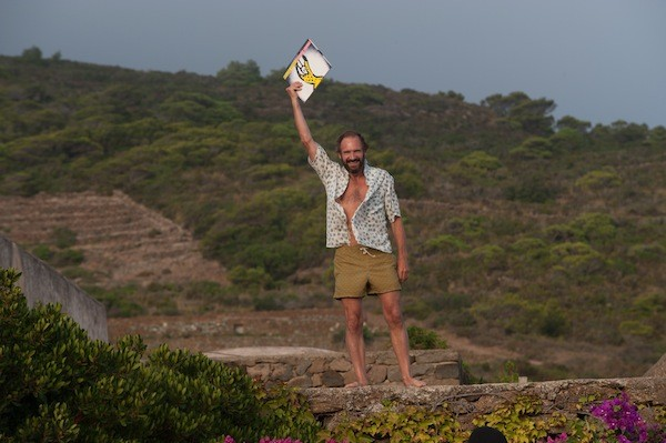 Ralph Fiennes in A Bigger Splash. (Photo: Fox Searchlight)