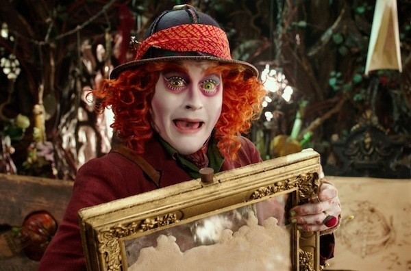 Johnny Depp in Alice Through the Looking Glass. (Photo: Disney)