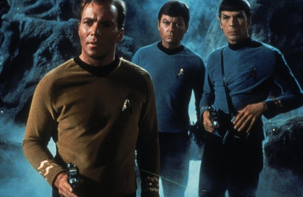 William Shatner, DeForest Kelley and Leonard Nimoy in Star Trek (Photo: Paramount & CBS)