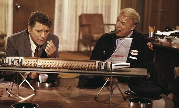 Burt Lancaster and George Kennedy in Airport (Photo: Universal)