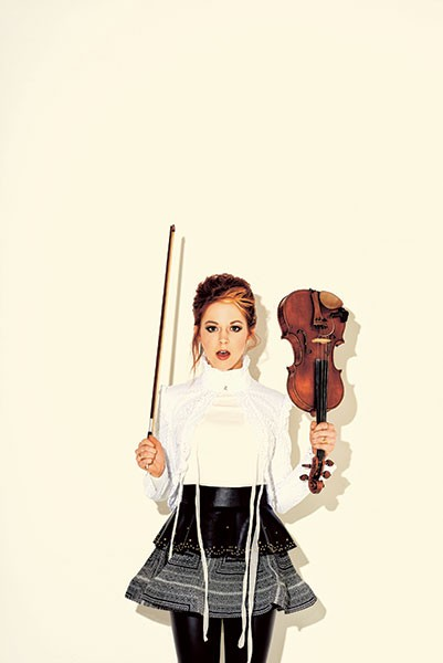 Lindsey Stirling (Photo by Andrew Zaeh)