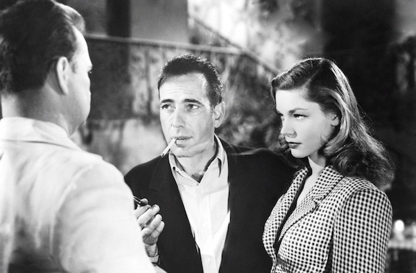 Humphrey Bogart and Lauren Bacall in To Have and Have Not (Photo: Warner)