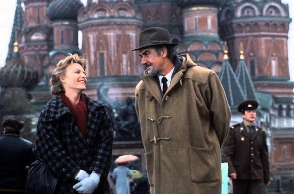 Michelle Pfeiffer and Sean Connery in The Russia House (Photo: Twilight Time)