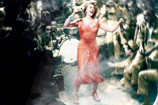 Rita Hayworth in Miss Sadie Thompson (Photo: Twilight Time)