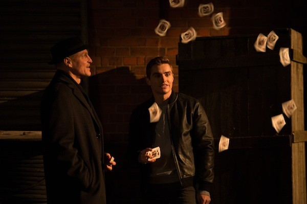 Woody Harrelson and Dave Franco in Now You See Me 2 (Photo: Summit)