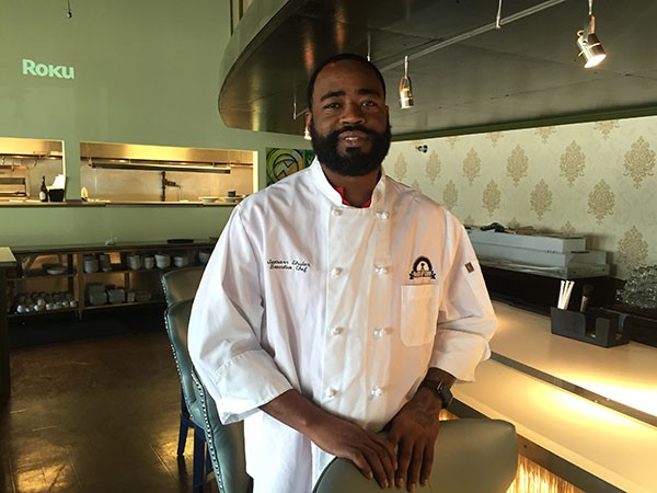 Chef Jamarr Shular of NoCA Uptown