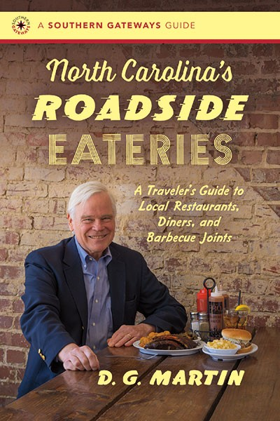 D.G. Martin signs copies of his new book at Park Road Books on Oct. 12 and Main Street Books on Oct. 13.