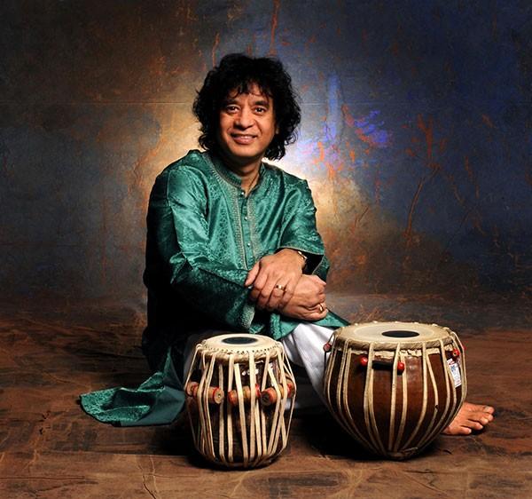 Tabla legend Zakir Hussain - JIM MCGUIRE