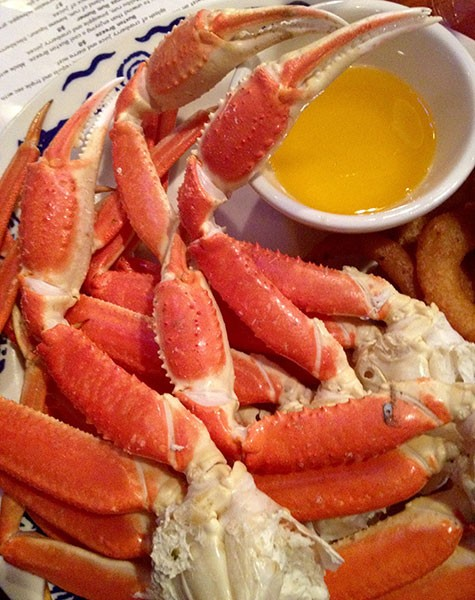 Get your all-you-can-eat crab fix. (Photo by Chrissie Nelson)