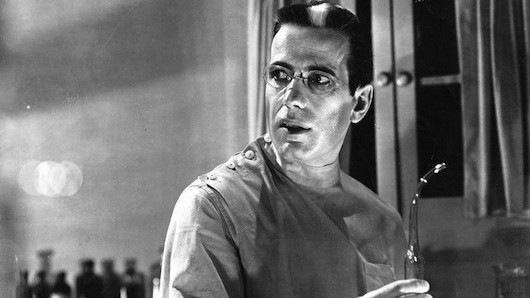 Humphrey Bogart in The Return of Doctor X (Photo: Warner)