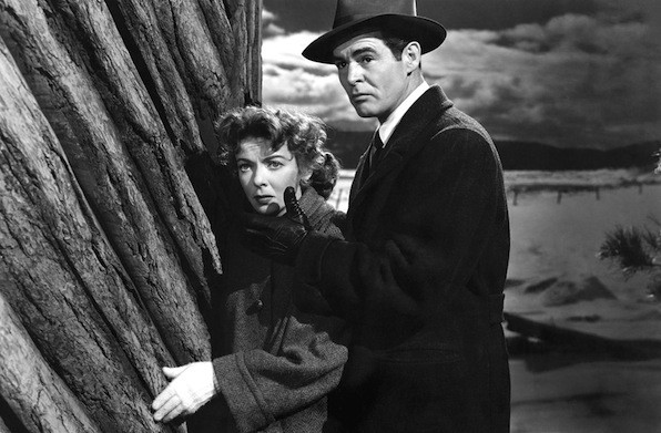Ida Lupino and Robert Ryan in On Dangerous Ground (Photo: Warner)