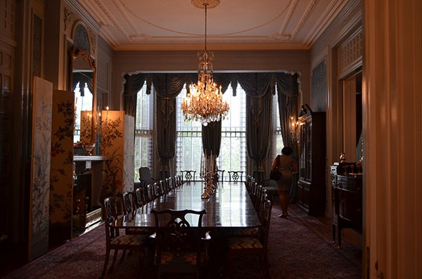 A room at the Governor's Mansion, where records from dinner meetings between the McCrory administration and Duke Energy don't seem to exist.