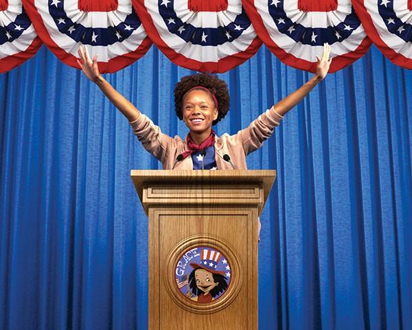 Grace for President runs through Nov. 6 at Wells Fargo Playhouse. (Photo by John Merrick)