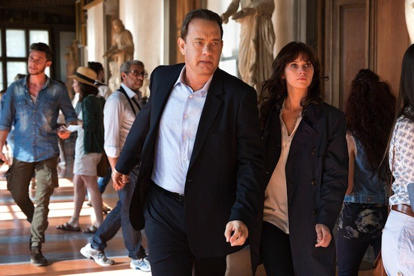 Tom Hanks and Felicity Jones in Inferno (Photo: Columbia)