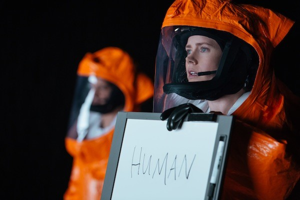 Amy Adams in Arrival. (Photo: Paramount)