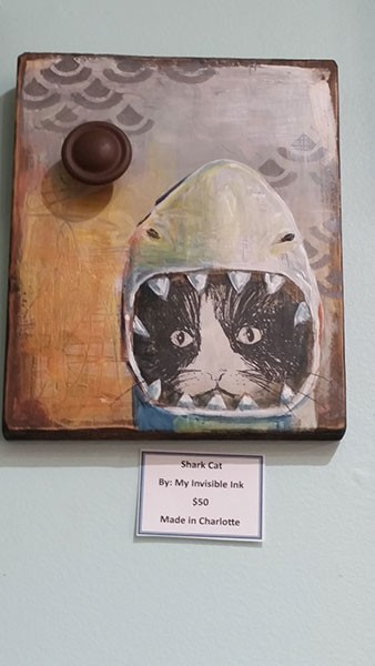 "Bethany Hadden's ""Shark Cat"" at 32 Flavors"
