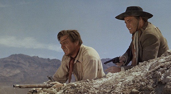 Karl Malden and Marlon Brando in One-Eyed Jacks (Photo: Criterion)