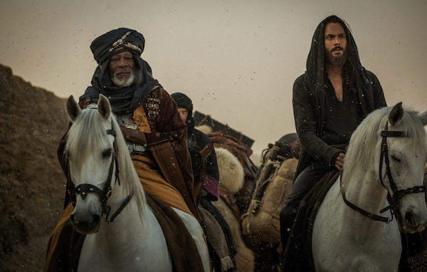 Morgan Freeman and Jack Huston in Ben-Hur (Photo: Paramount & MGM)