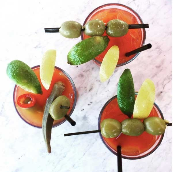 Bloody Marys at Vivace - CHRISSIE NELSON ROTKO