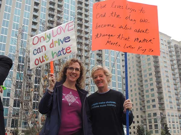 Brenda Stubbs (left) and Kim Bohannon. - RYAN PITKIN