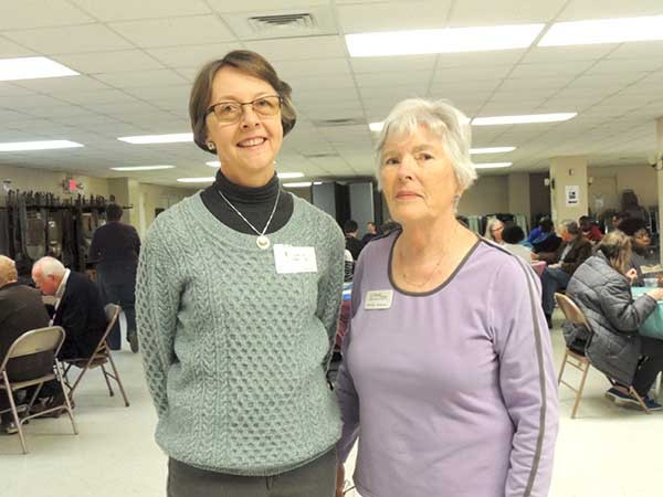 "Linda Phillips (left, pictured with Carolyn Robinson) founded Providence Place as a way to cater to those who ""have fallen away from socializing, or socializing has fallen away from them."" - RYAN PITKIN"