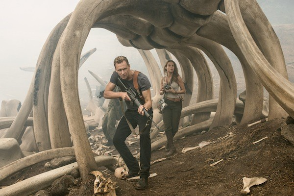 Tom Hiddleston and Brie Larson in Kong: Skull Island (Photo: Warner Bros.)