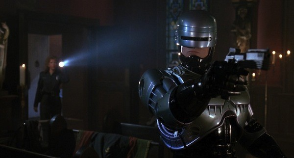 Nancy Allen and Robert John Burke in RoboCop 3 (Photo: Shout! Factory & MGM)