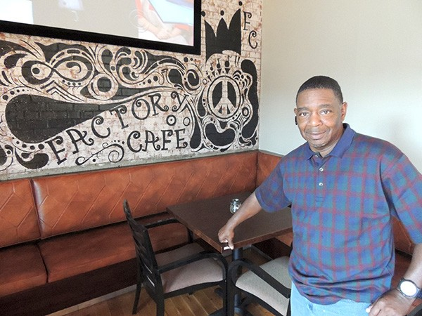 Cecil Dowdell, Factory Cafe's manager.