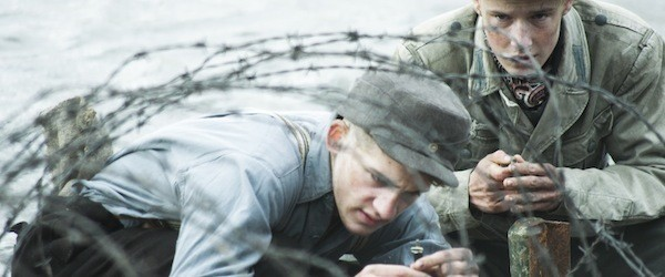 Oskar Bökelmann and Louis Hofmann in Land of Mine (Photo: Sony Classics)