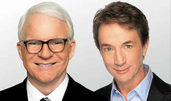 Steve Martin (left) and Martin Short.