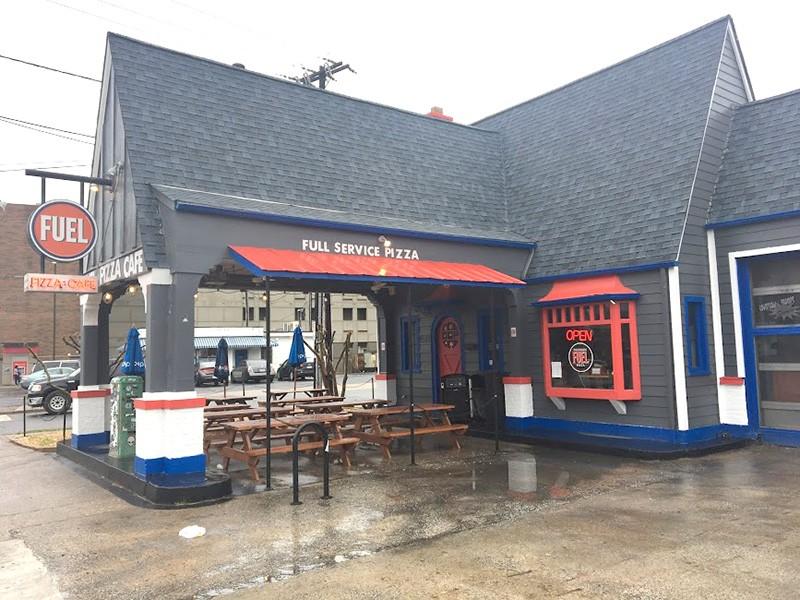 The original Fuel Pizza on Central Avenue.
