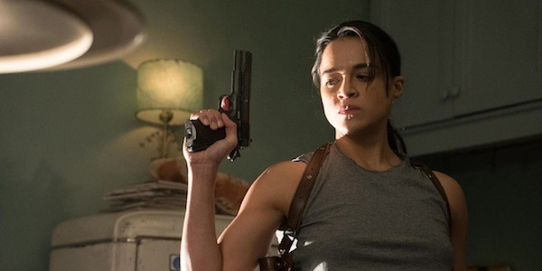 Michelle Rodriguez in The Assignment (Photo: Lionsgate)