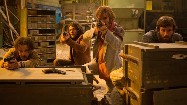 Noah Taylor, Jack Reynor, Sharlto Copley and Armie Hammer in Free Fire (Photo: A24 & Lionsgate)